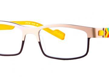 Just Eye Fashion 1038 Gold/Brown