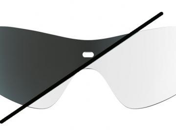 Biking Shield Photochromatisch Clear