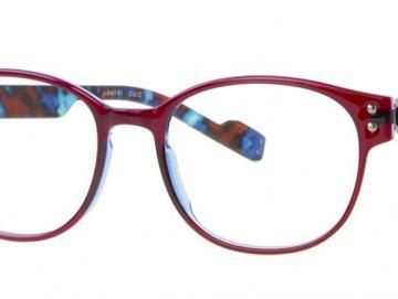 Just Eye Fashion 1055 Fuchsia/Blue