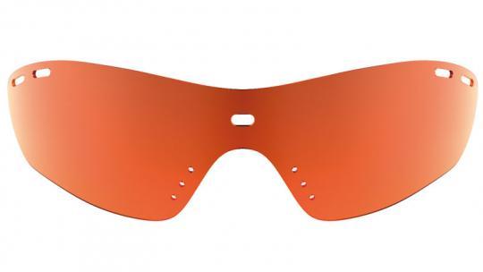 Running Shield Orange Mirror