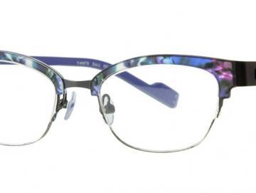 Just Eye Fashion 1058 M.Blue-Purple/Gray