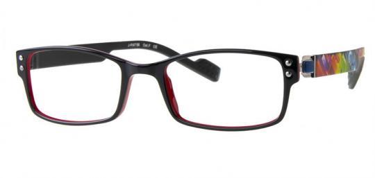 Just Eye Fashion 1063 S.Black/Red