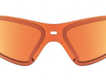Winter Shield Orange Mirror