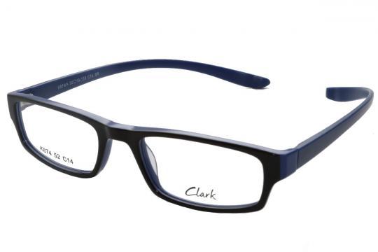 Lesebrille Clark Schwarz Blau