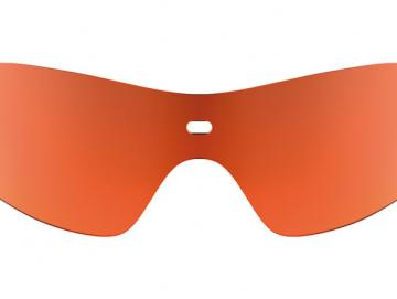 Biking Shield Orange Mirror
