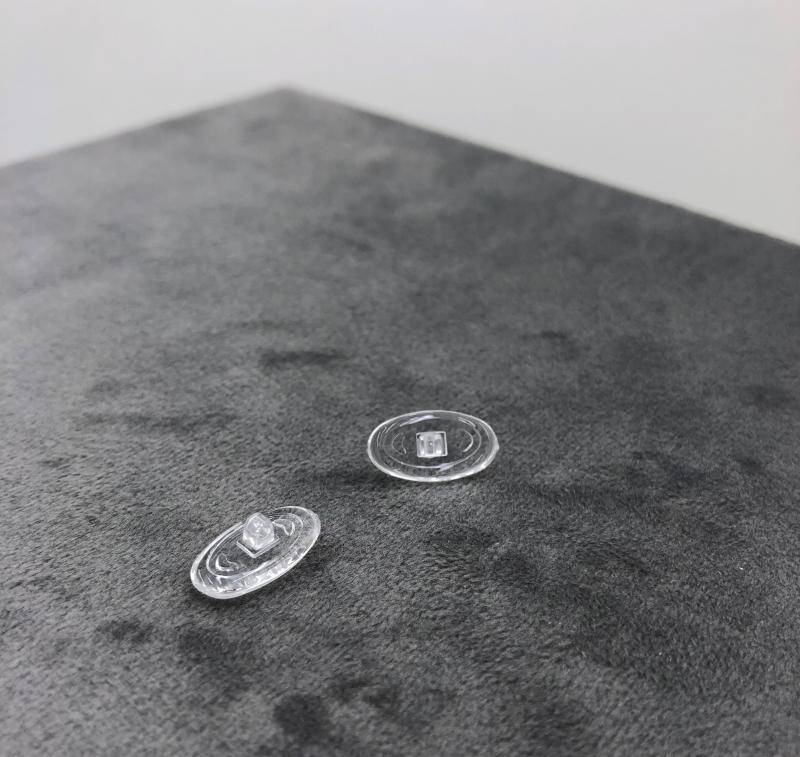 Nasenpads Oval 12mm Schrauben