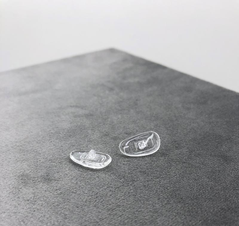Nasenpads zum Schrauben (Nierenform)